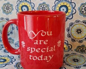 Waechtersbach you are special today mug