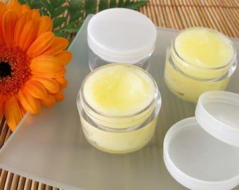 Natural lip balm Orange Honey lip balm/gift for women gift for her stocking stuffer / beeswax / essential oil / organic lip balm / nourish