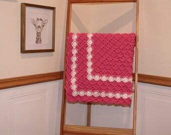 Bavarian Crochet Heirloom Baby Blanket