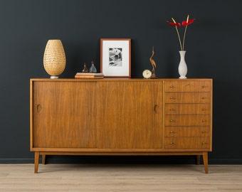50s sideboard, Georg Satink, WK furniture, vintage (601024)