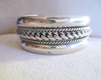Antique BERBER Silver Bracelet 800 EGYPT year 1920 Antique Bedouin Silver Bracelet