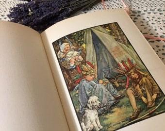 Flora and Fred Pretend, 1923 - vintage children's book