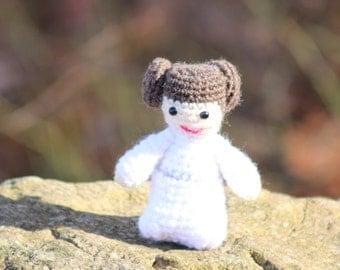 Star Wars, Princess Leia, Amigurumi, Crochet