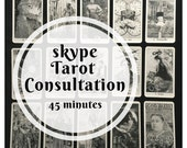 45 minute Skype Tarot Con...