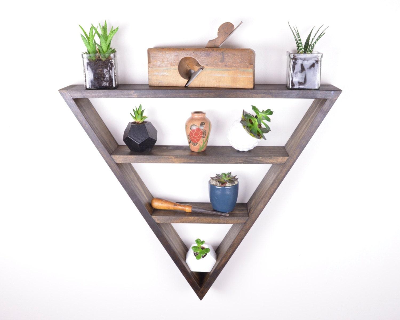 Triangle shelf   Etsy