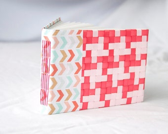 CLEARANCE Woven Long Stitch Blank Journal