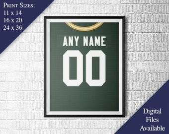 Green Bay Packers Wall Art packers wall art | etsy