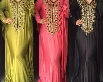 Kaftan abaya. Made to order