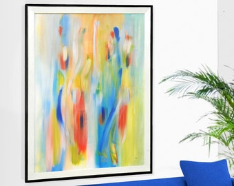 Print, Painting, Acrylic Painting, Abstract Painting, Wall Decor