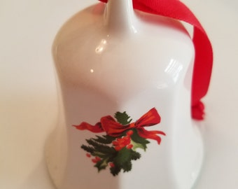Pfaltzgraff Christmas Heritage 1992 Collector Bell