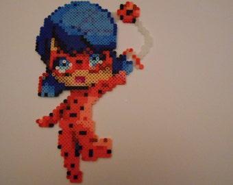 Miraculous Ladybug Perler Bead Art
