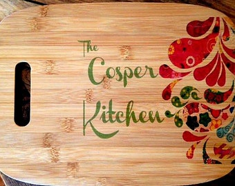 Personalized Gifts for Clients, Bamboo Cutting Board, Customized, Name Gift, Wedding Gift