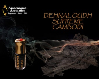 Dehnal Supreme Cambodi Agarwood Oudh Oil  - Limited