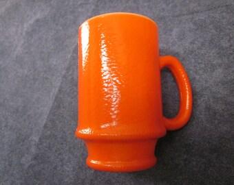 Vintage 70's Coffee Mug Burnt Orange