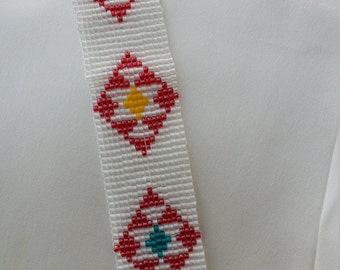 First Nation inspired Beaded Bracelet