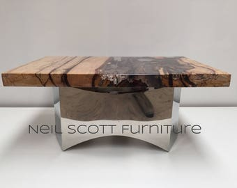 Contemporary tamarind coffee table