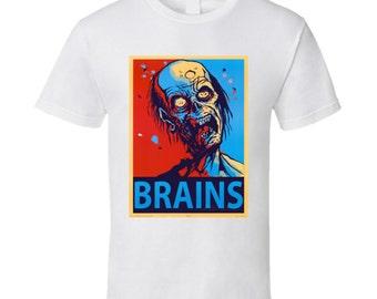 Zombie Brains Tshirt