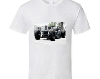 Rat Rod Jeep Tshirt