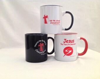The Trinity of Christian Coffee Mugs