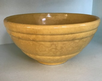 Medium Yellow Pfalzgraff Mixing Bowl