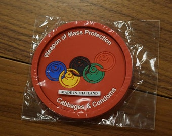 Weapon Of Mass Protection Coaster