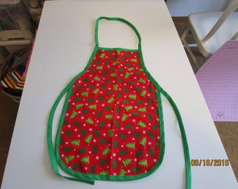 Children's Holiday Apron