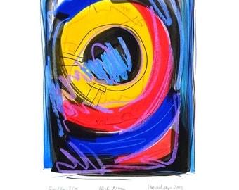 High Noon - large fine art print 60 x 85 cm by Volker Mayr
