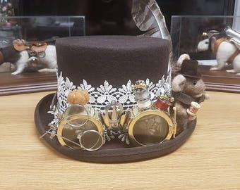 Seamstress Goggles, Tailors Goggles, Steampunk Goggles, Brass Goggles,