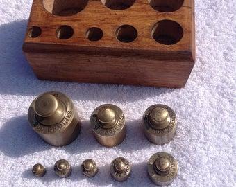 Set of Brass Weights