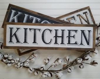 Kitchen Signs - Kitchen Wall Decor - Farmhouse Style - Rustic Signs - Wood Signs - Wooden Signs - Farmhouse Signs