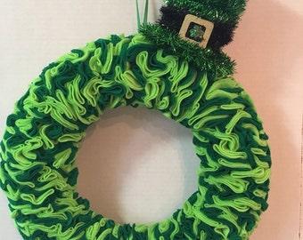 St Patty's Day wreath