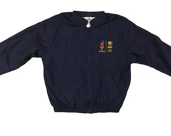 1996 Olympics jacket windbreaker lightweight jacket coat 96 Olympics 90s windbreaker olympic games size XL Atlanta