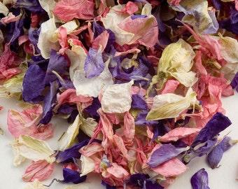 Delphinium Petal Confetti - 1 Litre