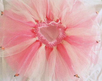 Pretty in pink baby girl tutu