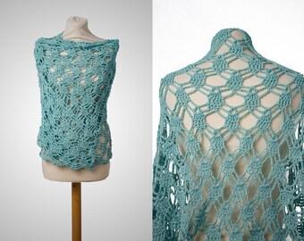 Shawl Wrap, Crochet Shawl, Lace shawl, Lace Shrug, Prayer Shawl, Bridal Shawl, Scarf Shawl, Shawl Scarf, Shawl Crochet, Summer Shawls