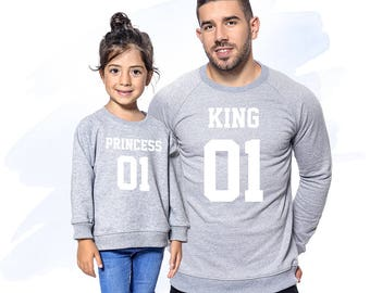 Daddy's Girl Children Outfit, Dad and Baby Matching Shirts, Daddy's Princess Shirts, Daddy and Daughter Matching Shirts, Daddy And Me Outfit