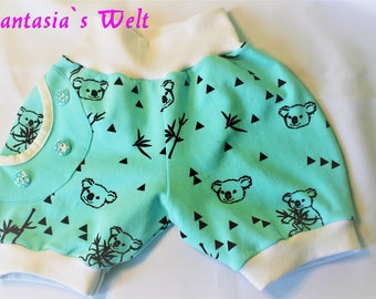 "Baby-Shorts ""marina with koala Gr. 74"