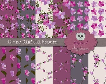 80% OFF! - Azalea 1 Digital Paper