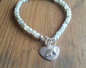 Grey Horse Bracelet