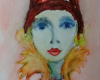 Portrait of a woman: Katarina