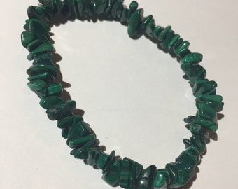 Malachite Bracelet ( large )