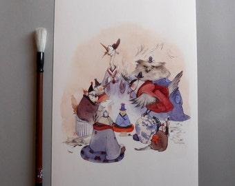 Kaigi - Fine Art Print