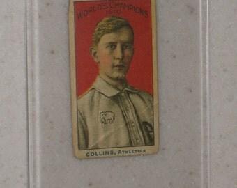 1910 Nadja Carmels world Champions Eddie Collins with Screwdown Case