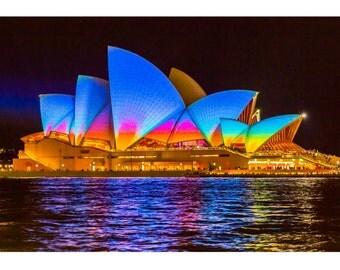 Vivid Sydney Opera House, Australia - Photography Print