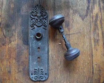 antique sargent & co cast knob set