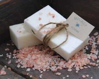 Handmade soap- Organic Ingredients- Natural- Revitalize Soap- Revitalizing