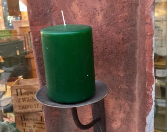 French vintage roof tile candle holder/sconce