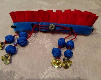 Civil War Era/Victorian Dog Collar and Leash Set (Godey's)