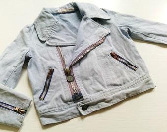 Jacket 104 VinTage retro hipster kid of design kids oldschool 70s 80s