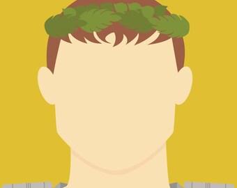 Minimalist Augustus